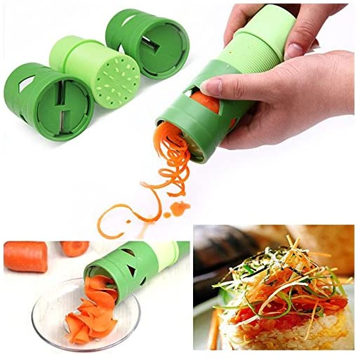 fenrad-Spirelli-Affettatrice-a-Spirale-per-Frutta-e-Verdura-Spiral-Slicer-Grattugia-Tagliaverdure-Cutter-per-Vegetable-Fruit-Spiral-Slicer-Grattugia