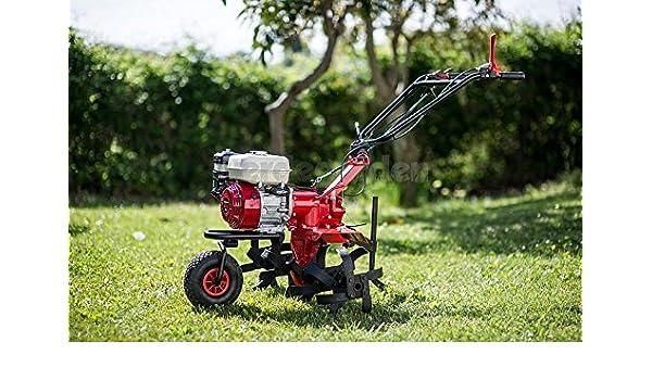 Motoazada K63 Sicil azada con motor Honda GX 160: Amazon.es ...