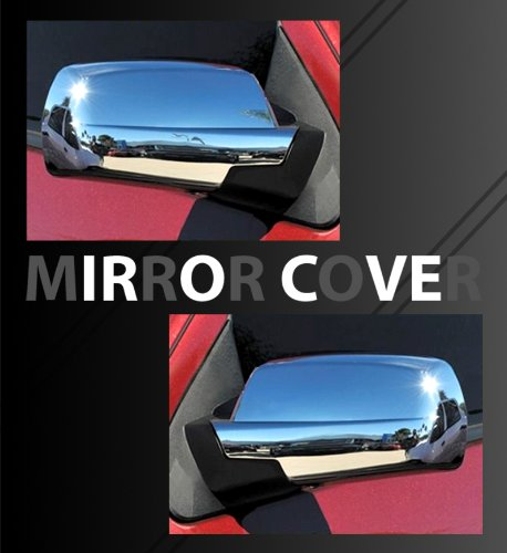 - MaxMate Fits 2014-2015 Chevy Silverado/GMC Sierra Chrome Full Mirror Covers