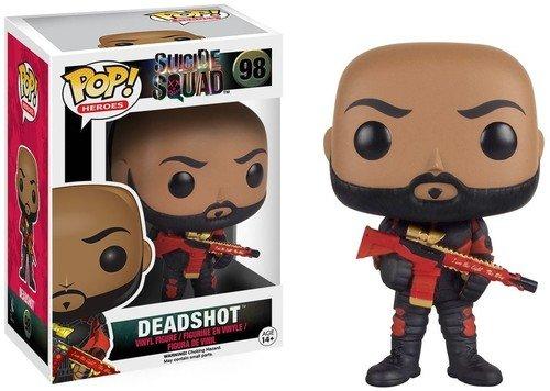 Funko Pop! - Deadshot (unmasked)  Suicide Squad