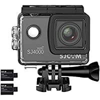 SJCAM SJ4000 WIFI Action Camera DV Full HD 1080P 12MP 2.0 inch LCD wtih Waterproof Case 2 Batteries Underwater 30M for Sport Diving Bicycle Outdoor