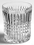 "Vintage FOSTORIA GLASS Clear ASPEN 3 7/8"" Heavy Lead Crystal Barware DOUBLE OLD FASHIONED Glass (Discontinued 1982)"
