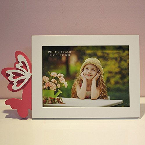 Talented Things 5 x 7 Wooden Photo Frame in White, Easter Th