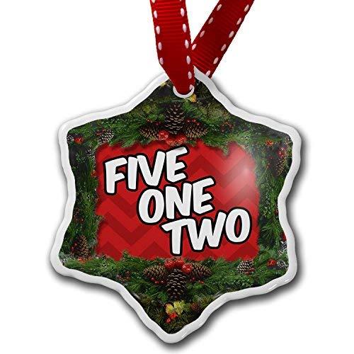 VinMea Star Shaped Porcelain Red Christmas Ornament 512 Austin, TX red -