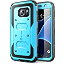 Galaxy S7 Case, [Armorbox] i-Blason built in [Screen Protector] [Full body] [Heavy Duty Protection ] Shock Reduction / Bumper Case for Samsung Galaxy S7 2016 Release (Blue)