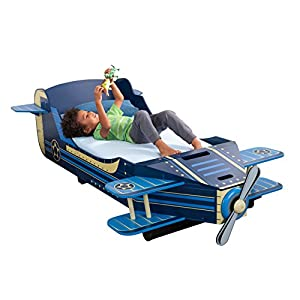 KidKraft Airplane Toddler Bed 9