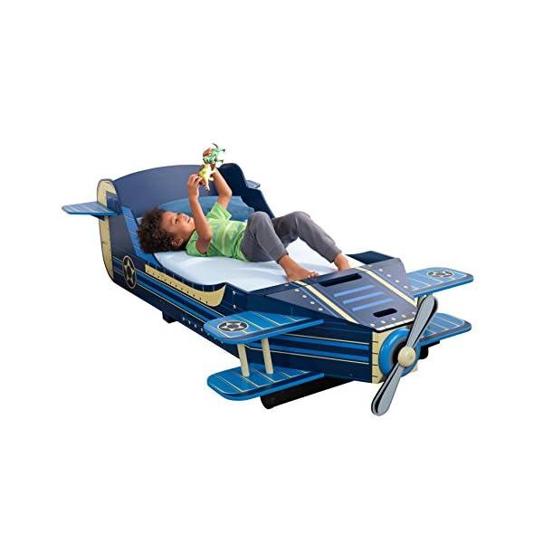 KidKraft Airplane Toddler Bed 1