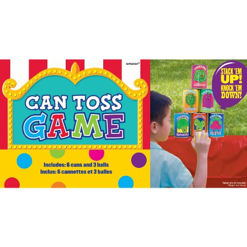 Amscan Carnival Fair Toss Multicolor product image
