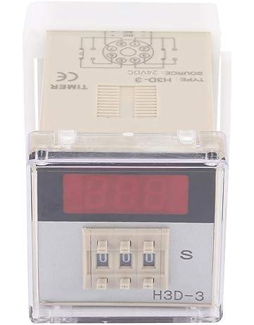H3D-3 Relé de tiempo digital, 5A Interruptor de control de tiempo de temporizador