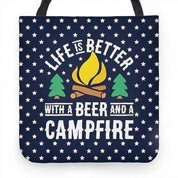 Amazon.com: La vida es mejor con una bolsa de cerveza y una ...