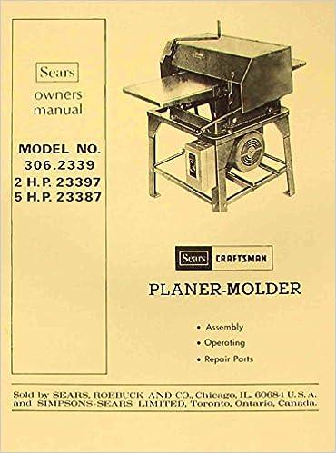 craftsman parts manuals