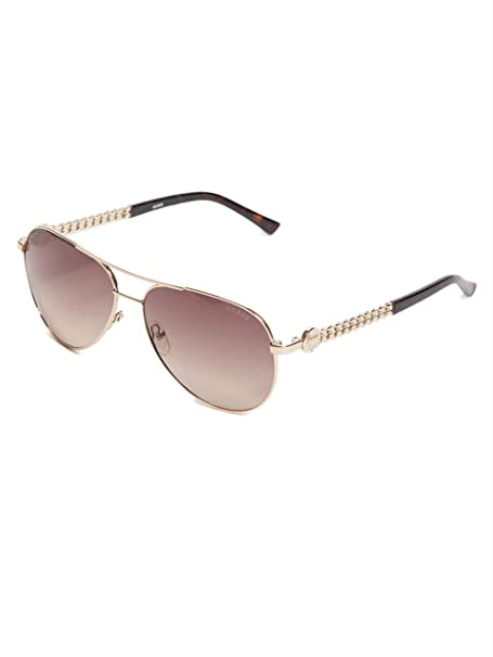 Amazon.com: Guess Factory - Gafas de sol con logotipo de ...