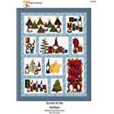 Fat Cat Patterns FCP-057 Gnome for The Holidays Applique, None