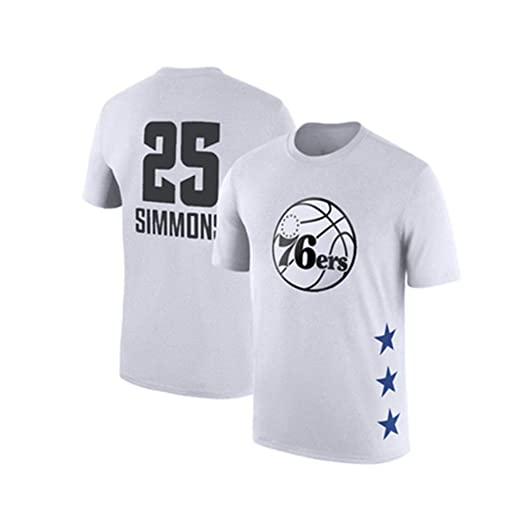 ENTHUSIAST Camiseta para Hombre All-Star NBA Manga Corta ...