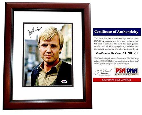 Jon Voight Autographed Signed Legendary Actor 8x10 Photo - Ray Donovan Actor - Mahogany Custom Frame - PSA/DNA Authentic