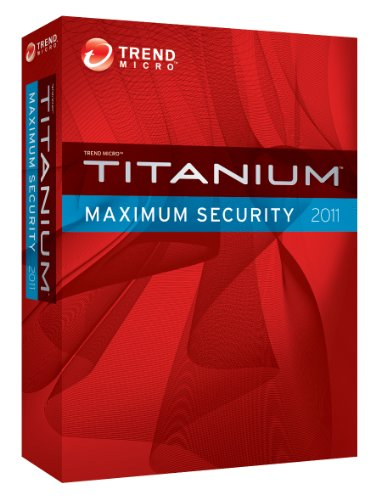 Trend Micro Titanium Maximum Security 2011 - 3 User [Old Version]