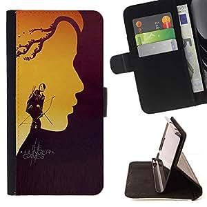 Momo Phone Case / Flip Funda de Cuero Case Cover - Hung3r Juegos;;;;;;;; - HTC One M7