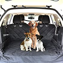 Rexway 2018 Premium Cargo Liner Cover for SUVs, Trucks and Cars, 100% WaterproofMaterial and Non-Slip Backing with Bumper Flap Protection, Perfect Large Size Universal Fit Large