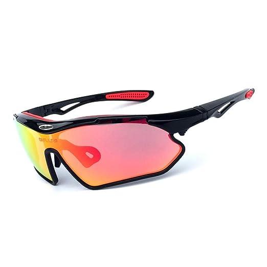 Hombres y Mujeres Gafas de Sol de Bicicleta de montaña Deportes al ...