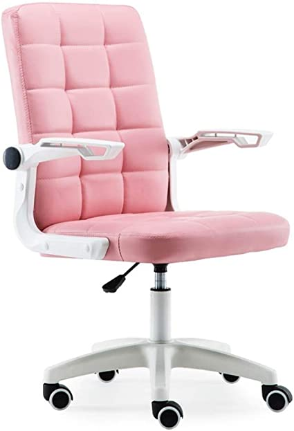Chairs Office Furniture Pink Princess Girl Esports Game Company Staff Ergonomic Can Be Lifted And Lowered 90 Degree Desk Chairs Amazon De Kuche Haushalt