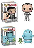 Funko POP! Television Pee-Wee Herman: Pee-Wee Herman and Chairry and Pterri Toy Action Figure - 2 POP BUNDLE
