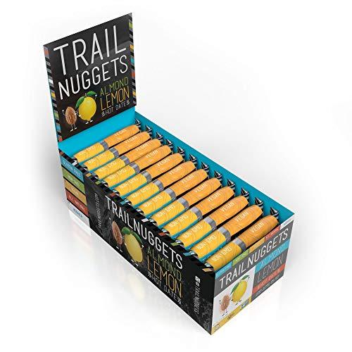 Trailnuggets GO! Energy Bar, Lemon Almond Hot Date, Vegan, Non-GMO, Gluten-Free, Dairy-Free, Soy-Free (Pack of 12)