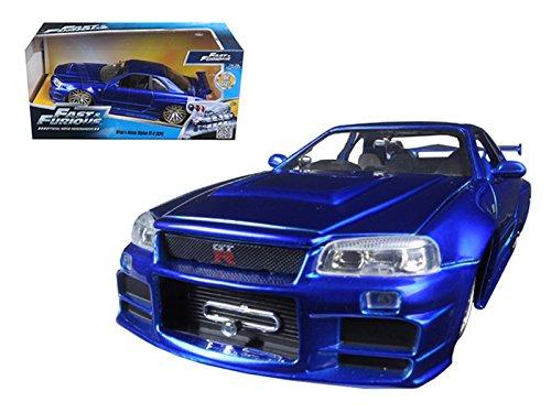 Brian's Nissan GTR Skyline R34 Blue