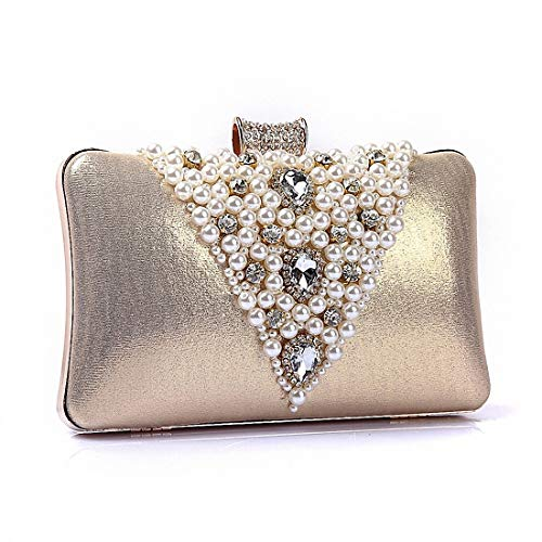DUmulan Bolso de Embrague de Las señoras Bolsos de Noche de Gama Alta Cena Diamantes Bolsas de Noche Bolsas de Moda de la Boda del Partido.