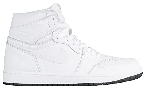 all white jordan retro 1