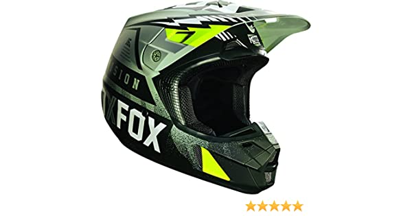 Amazon.com: Fox Racing Vicious Mens V2 Motocross Motorcycle Helmet - Army / Medium: Automotive