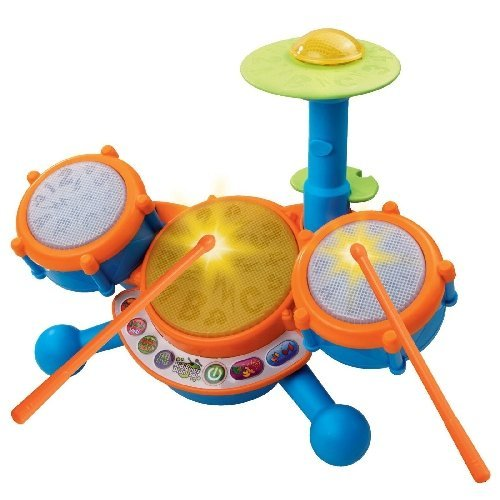 Vtech   Kidibeats Learning Drum Set   Learn To The Beat Of The Music  Teaches  Letters  Phonics  Counting  Memory  Music