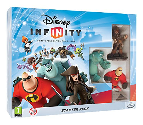 Disney Infinity Starter Pack Nintendo 3DS Game UK PAL (Disney Infinity For Nintendo Ds)