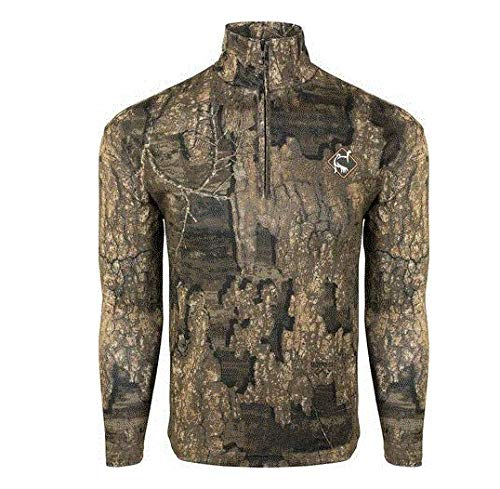 Ol'Tom Performance 1/4 Zip Long Sleeve Shirt - Realtree Timber (Small)