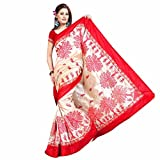 Bollywood Party Wear Indian Ethnic Cotton Silk Designer Sari Wedding Saree