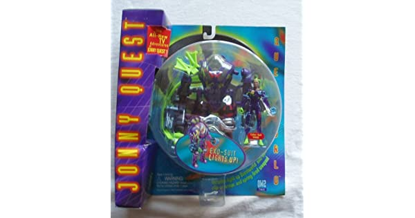 Amazon.com: 1996 Jonny Quest GALOOB exo-suit Light Up: Toys ...