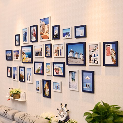 XK.DARLY Wall Home Decor Modern Living Room Photo Wall Decorative Photo Wall European Style Photo Frame Creative Wall Hanging by XK.DARLY