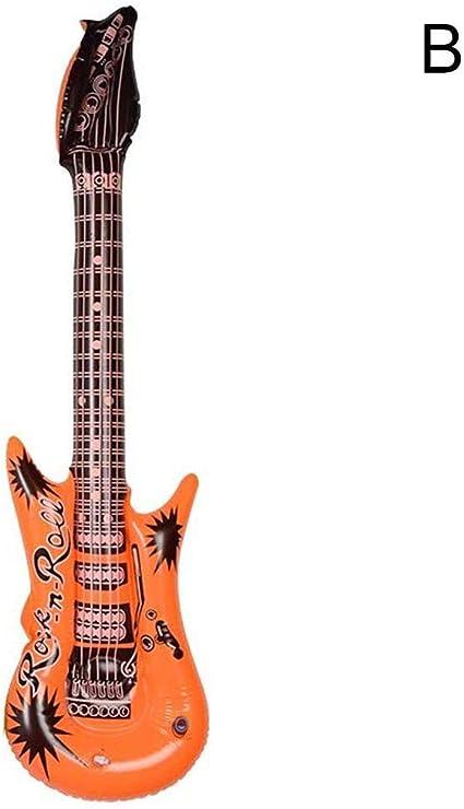 Joan DOMINGUEZ - Guitarra inflable (54 cm), diseño de globo de ...