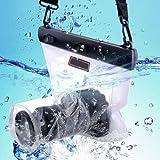 Goliton®, borsa impermeabile per fotocamera DSLR, custodia per Canon 5D, Nikon D7000,etc