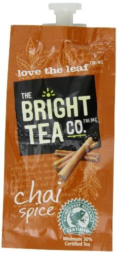 FLAVIA Tea, Chai Spice, 20-Count Fresh Packs (Pack of 5) by Flavia by Flavia