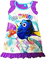 Disney Finding Dory Nemo Little Girls Toddler Nightgown