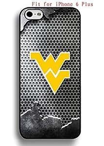 Cute Iphone 6 Plus (5.5) Case West Virginia,WVU NCAA AgnesPro Cool Design for Guys 2848
