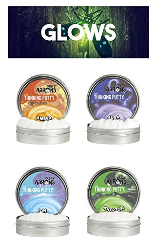 Crazy Aaron's Putty .47 oz Mini Tin Assortment - 12 Pack by Crazy Aaron's (Image #1)