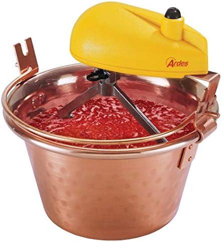 Ardes AR24AM80 Casserole en cuivre pour Polenta et Confiture Portions pour 8/12 Personnes Diamètre 28 cm