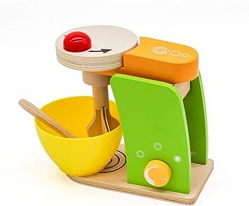 Seafar Madera Juegos, My de rol Play Pastel licuadora Juguete Robot de Cocina. Juguete cocinitas de Madera Set de pequeños electrodomésticos de Juguete educativos simulación para niños: Amazon.es: Juguetes y juegos