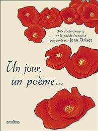 Un jour, un poème... par Jean Orizet