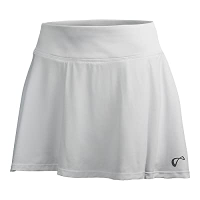 Athletic DNA Sports Apparel Circle Skort - White - Youth YL