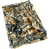"Camo Cozy 2 - 12-Volt Heated Travel Blanket (Camo, 58"" x 42"") with Patented Safety Timer by Trillium Worldwide"