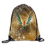 Logan Paul's Parrot Logo Bag,Sport Gym Sack Drawstring Backpack Bag For Sale