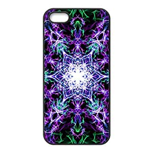 Purple bright laser Phone Case for iPhone 5S(TPU)