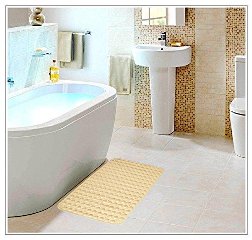 Yuanqi carpet Badezimmer-Fußmatten, Rechteck Anti-Rutsch-Matte PVC Sicherheit praktisch Komfortable Komfortable Komfortable Multifunktions-Badezimmer Küche Hotel Mode-Design (Farbe   D, größe   47  77CM) B07DQCCS9J Duschmatten 3f2219